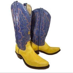 Canada West Calgary Stampede Cowboy Boots